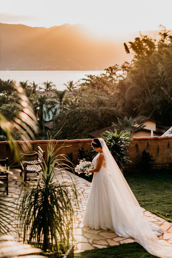 Espaço da noiva - Casamento em Ilhabela - Pousada Altamira