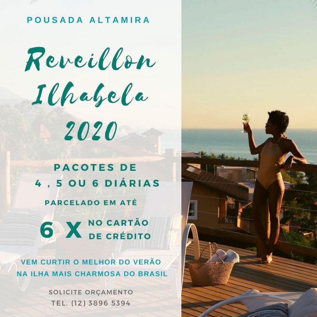 Réveillon Ilhabela 2020 - Pousada Altamira - Pacote promocional para o fim de de ano em Ilhabela