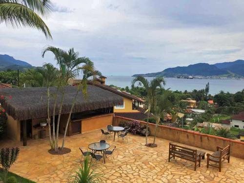 Bar da Piscina - Espaço para Eventos e Confraternizações Ilhabela - Pousada Altamira